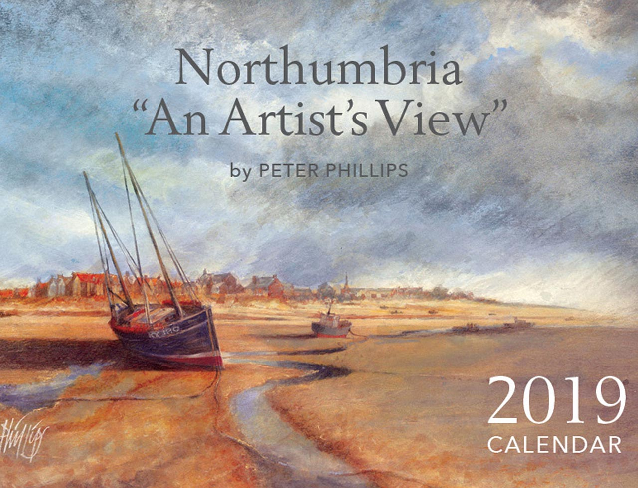 "Northumbria — ""An Artist's View"" Calendar cover"