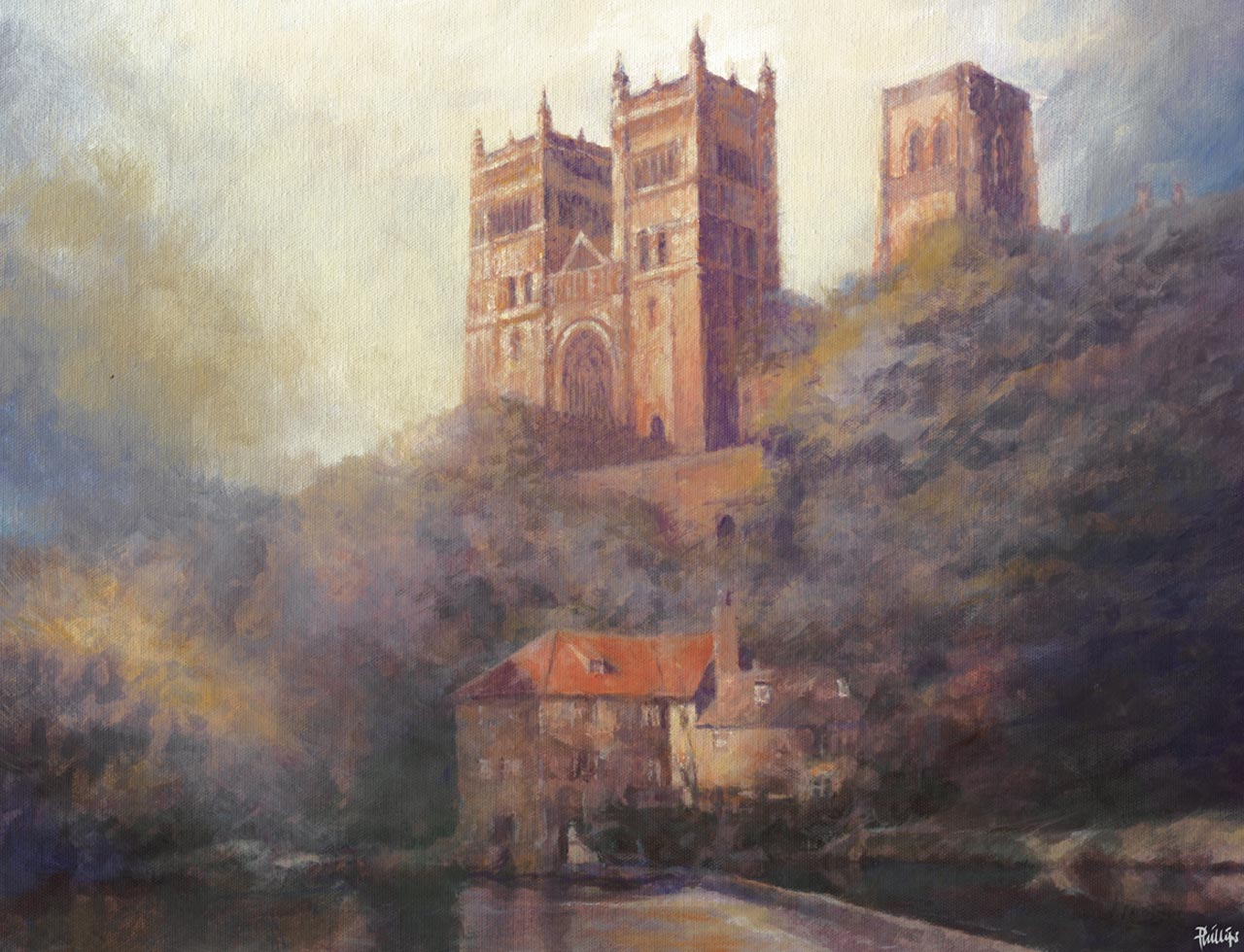 painting of Northumbria