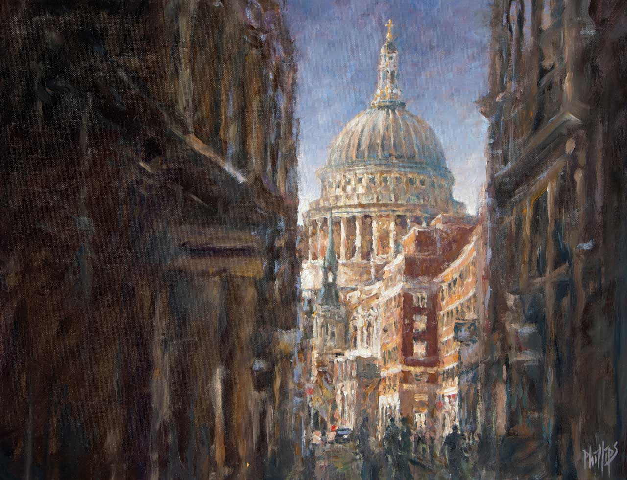painting of St. Paul's Cathederal, London