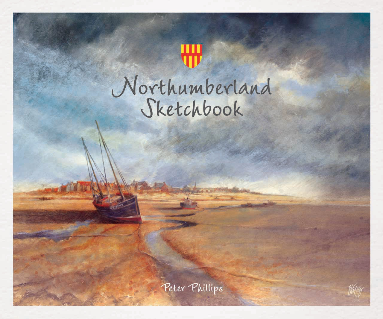 the 'Northumberland Sketchbook' cover