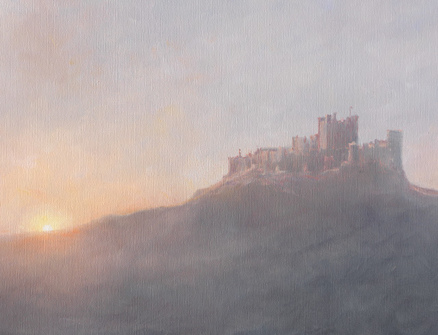 Bamburgh In The Mist 3